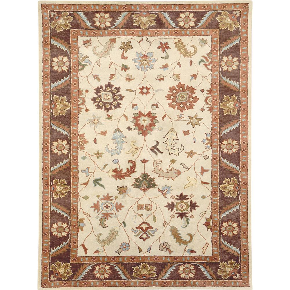Dynamic Rugs 1411-100 Charisma 9 Ft. 6 In. X 13 Ft. 6 In. Rectangle Rug in Brown
