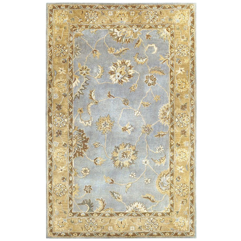 Dynamic Rugs 1416-501 Charisma 9 Ft. 6 In. X 13 Ft. 6 In. Rectangle Rug in Light Blue