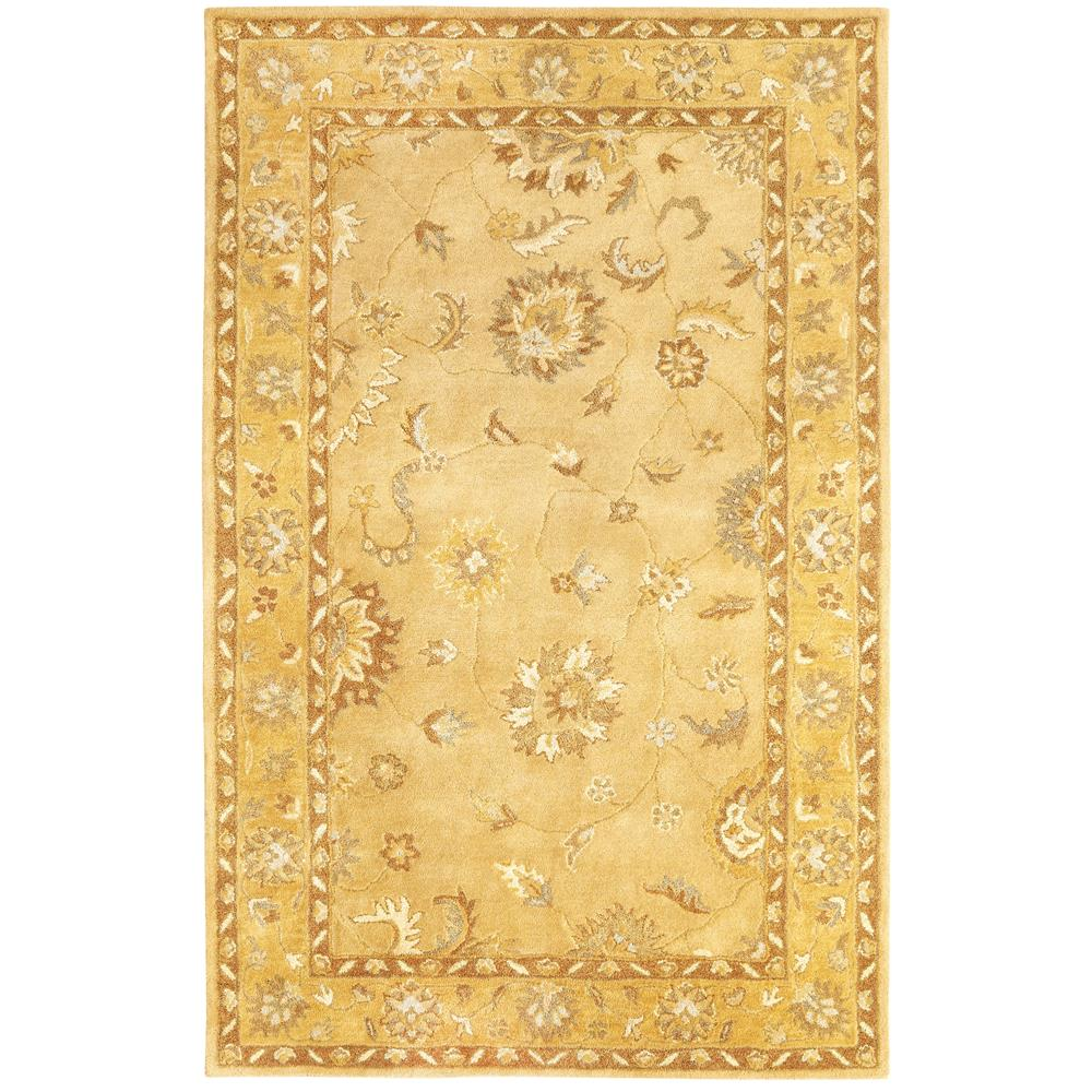 Dynamic Rugs 1416-757 Charisma 2 Ft. X 4 Ft. Rectangle Rug in Gold