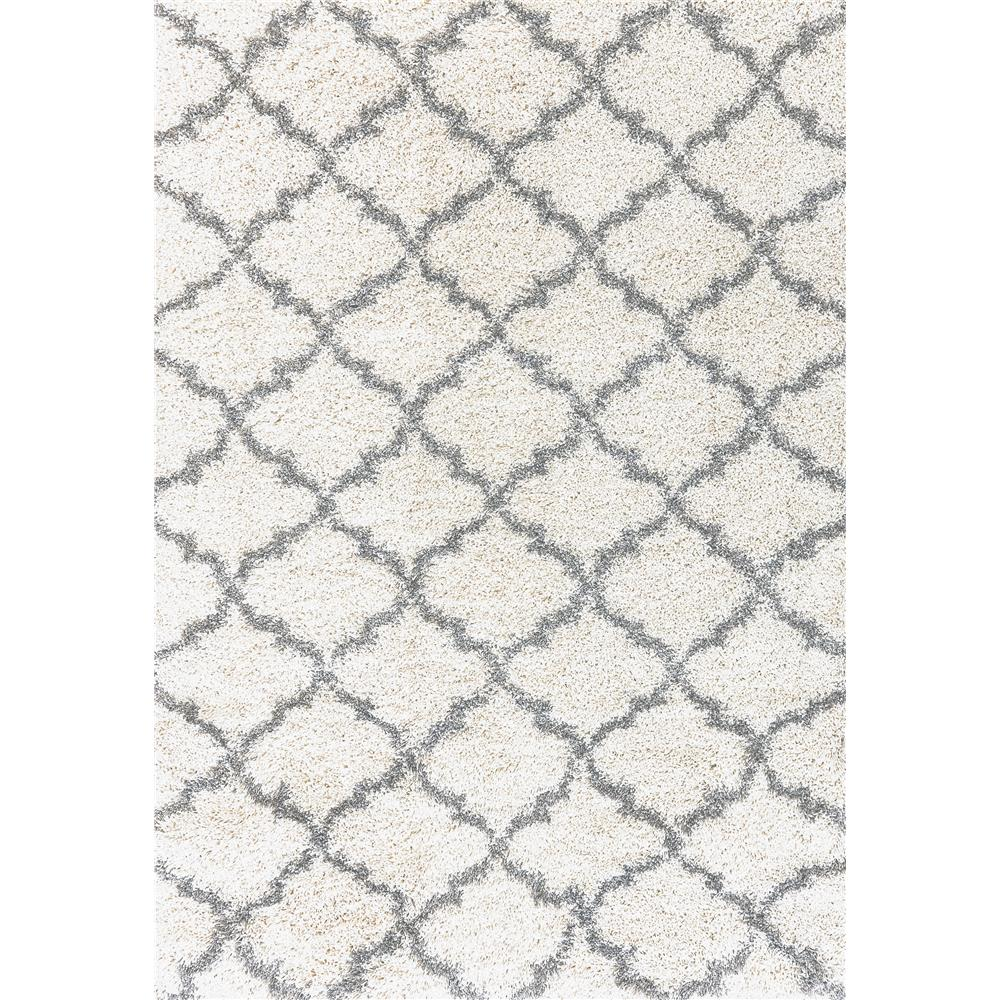 Dynamic Rugs 8520 109 Crystal 2 Ft. 7 In. X 5 Ft. Rectangle Rug in Cream/Grey