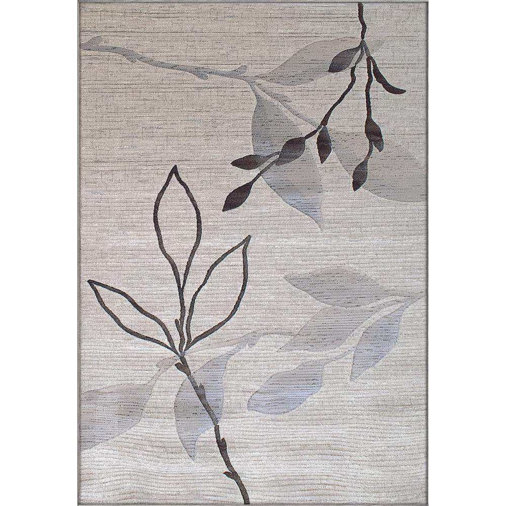 Dynamic Rugs 63008-6333 Eclipse 3 Ft. 11 In. X 5 Ft. 7 In. Rectangle Rug in Crème