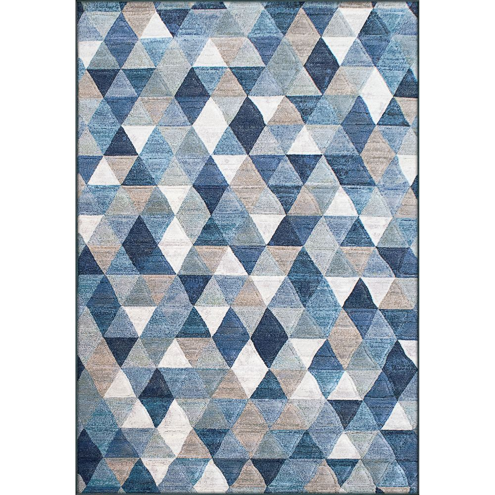 Dynamic Rugs 63263-5161 Eclipse 2 Ft. X 3 Ft. 11 In. Rectangle Rug in Blue/Multi