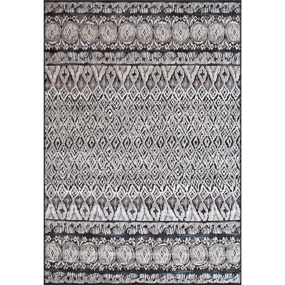 Dynamic Rugs 63317-3393 Eclipse 2 Ft. X 3 Ft. 11 In. Rectangle Rug in Grey