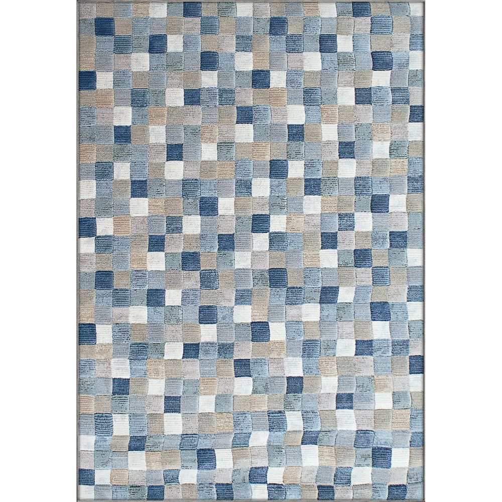 Dynamic Rugs 63339-6121 Eclipse 2 Ft. X 3 Ft. 11 In. Rectangle Rug in Multi Blue