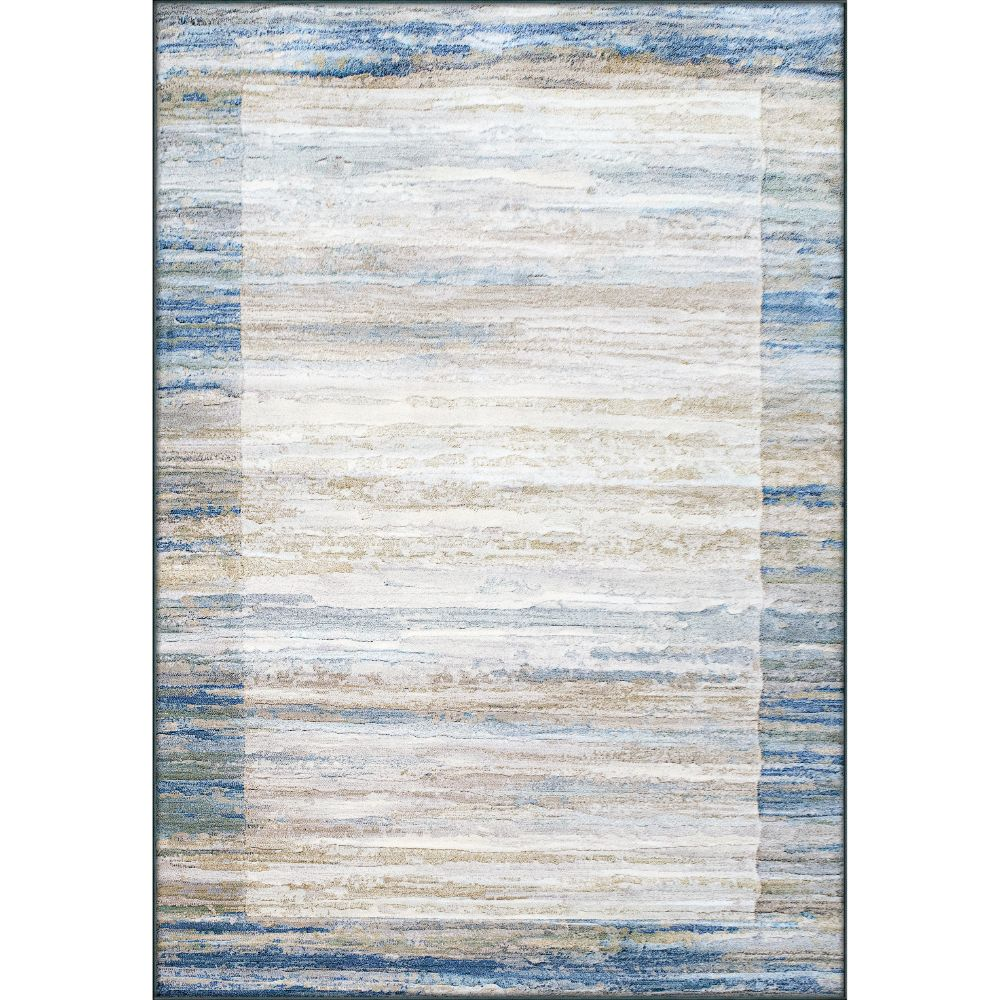 Dynamic Rugs  79138-6191 Eclipse 2 Ft. X 3 Ft. 11 In. Rectangle Rug in Blue/Grey
