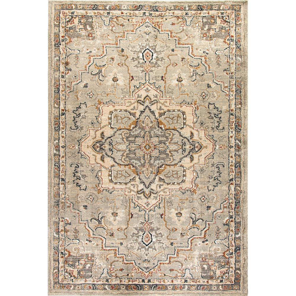 Dynamic Rugs  4770-510 Evolution 9 Ft. 2 In. X 12 Ft. 10 In. Rectangle Rug in Light Gray