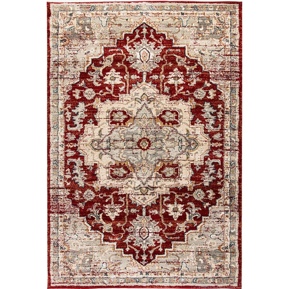 Dynamic Rugs  4770-660 Evolution 9 Ft. 2 In. X 12 Ft. 10 In. Rectangle Rug in Rust