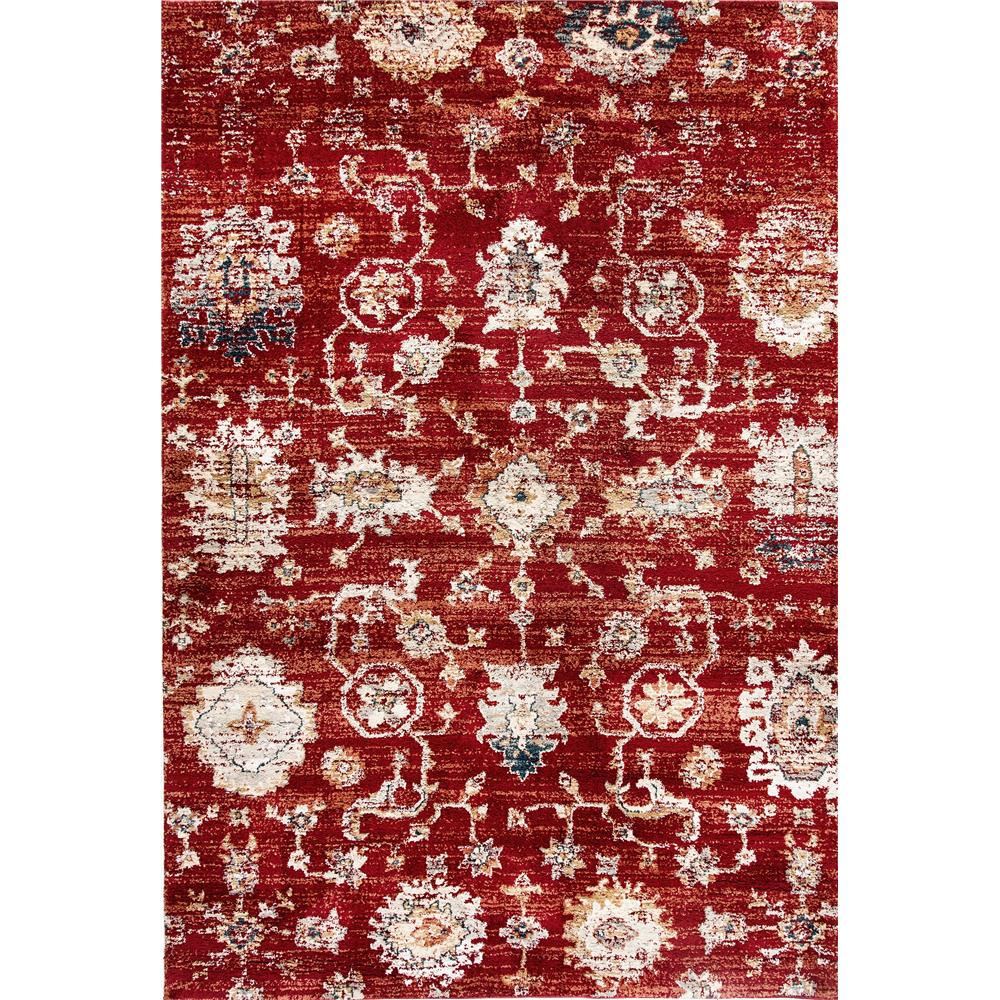 Dynamic Rugs  4771-660 Evolution 9 Ft. 2 In. X 12 Ft. 10 In. Rectangle Rug in Rust