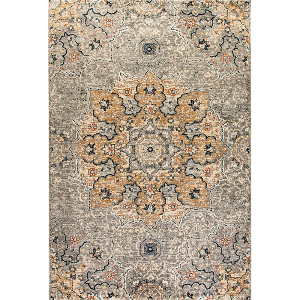 Dynamic Rugs  4772-510 Evolution 9 Ft. 2 In. X 12 Ft. 10 In. Rectangle Rug in Light Gray