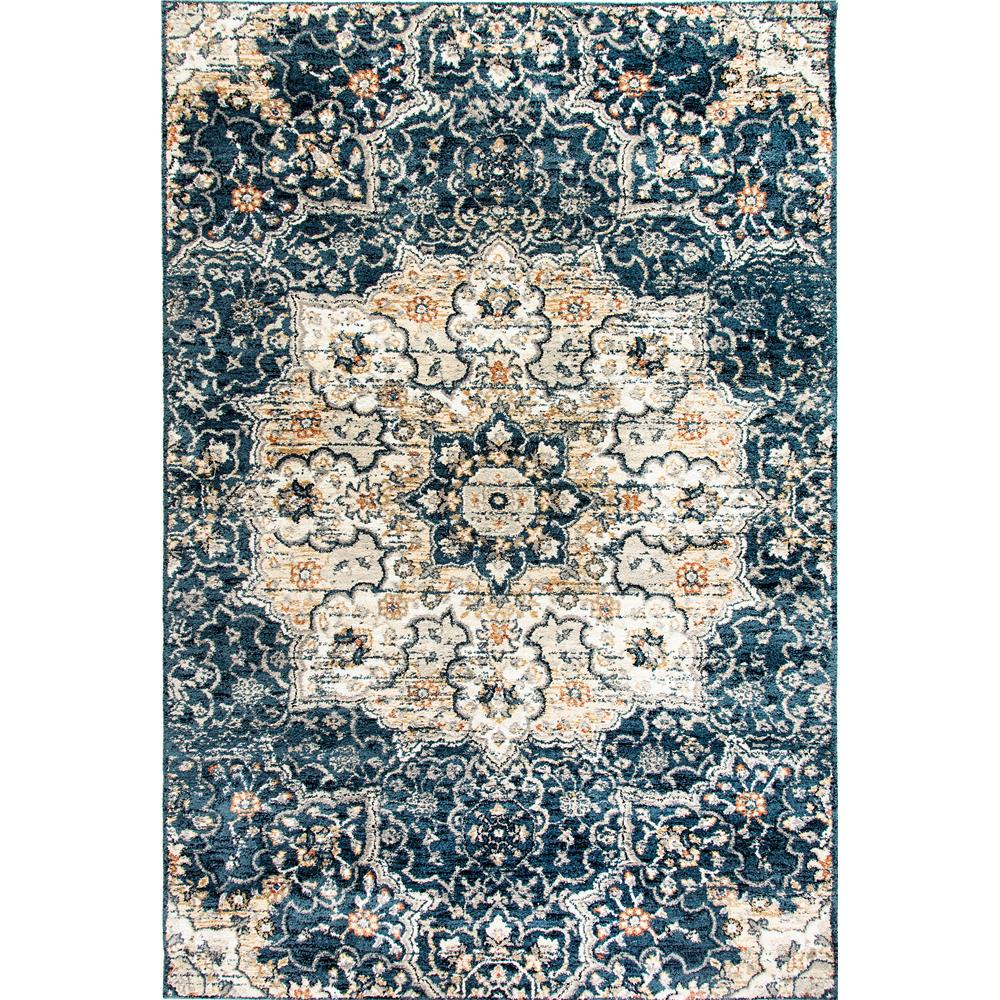 Dynamic Rugs  4772-550 Evolution 9 Ft. 2 In. X 12 Ft. 10 In. Rectangle Rug in Navy