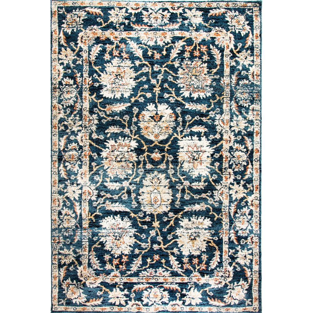 Dynamic Rugs  4773-550 Evolution 9 Ft. 2 In. X 12 Ft. 10 In. Rectangle Rug in Navy