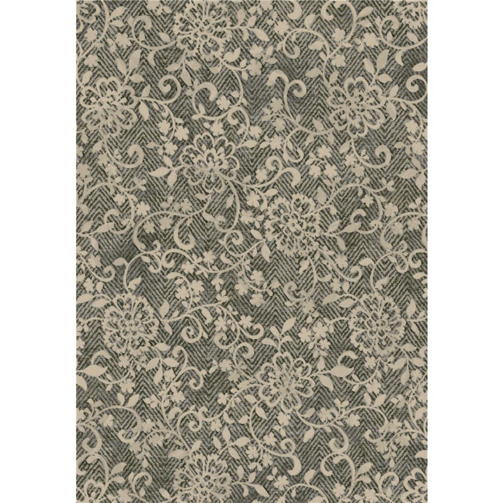 Dynamic Rugs 63293-4363 Eclipse 2 Ft. X 3 Ft. 11 In. Rectangle Rug in Brown Multi
