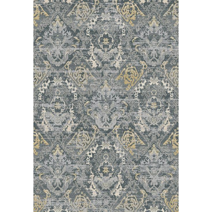 Dynamic Rugs  55790-900 Essence 2 Ft. X 3 Ft. 11 In. Rectangle Rug in Dark Grey