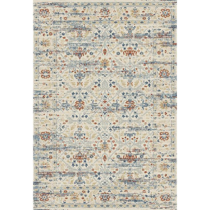 Dynamic Rugs  55820-100 Essence 2 Ft. X 3 Ft. 11 In. Rectangle Rug in Ivory/Multi