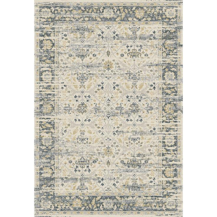 Dynamic Rugs  55820-190 Essence 2 Ft. X 3 Ft. 11 In. Rectangle Rug in Ivory/Grey