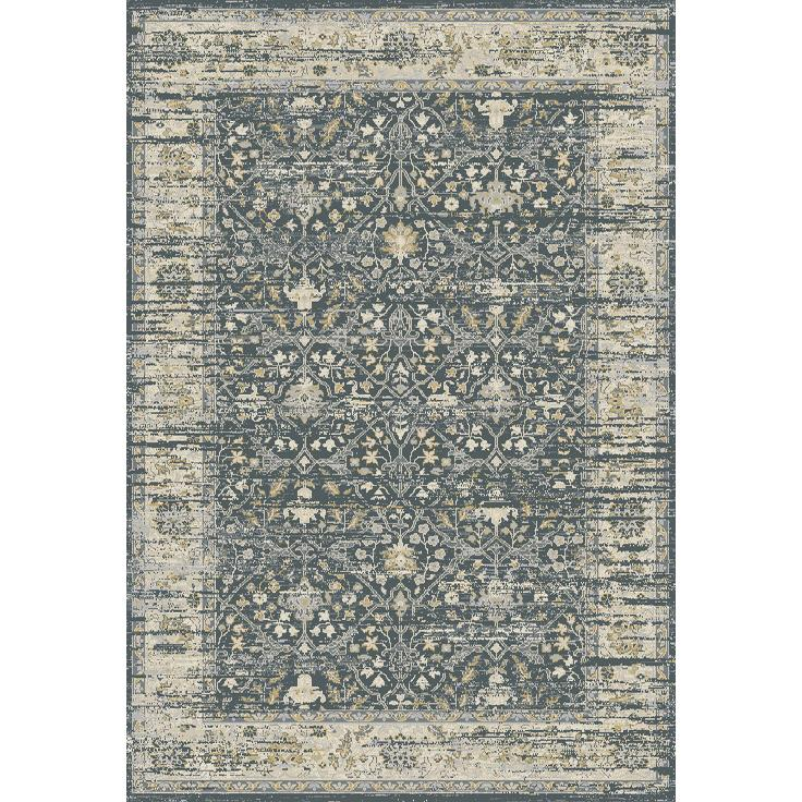 Dynamic Rugs  55820-500 Essence 2 Ft. X 3 Ft. 11 In. Rectangle Rug in Dark Grey/Ivory