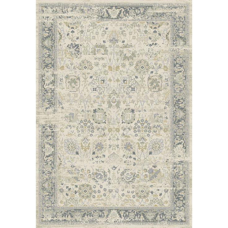 Dynamic Rugs  55870-190 Essence 2 Ft. X 3 Ft. 11 In. Rectangle Rug in Ivory/Light Grey