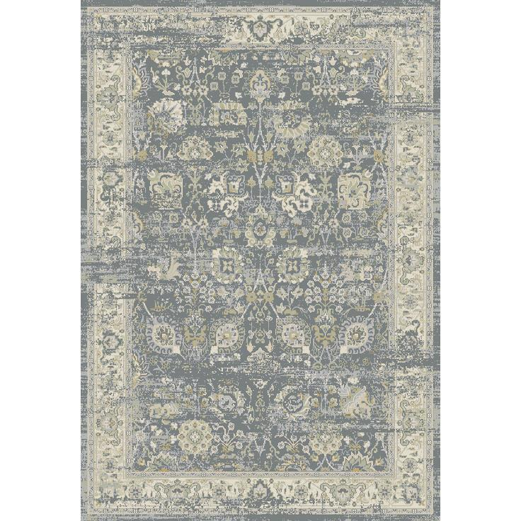 Dynamic Rugs  55870-900 Essence 2 Ft. X 3 Ft. 11 In. Rectangle Rug in Light Grey/Ivory