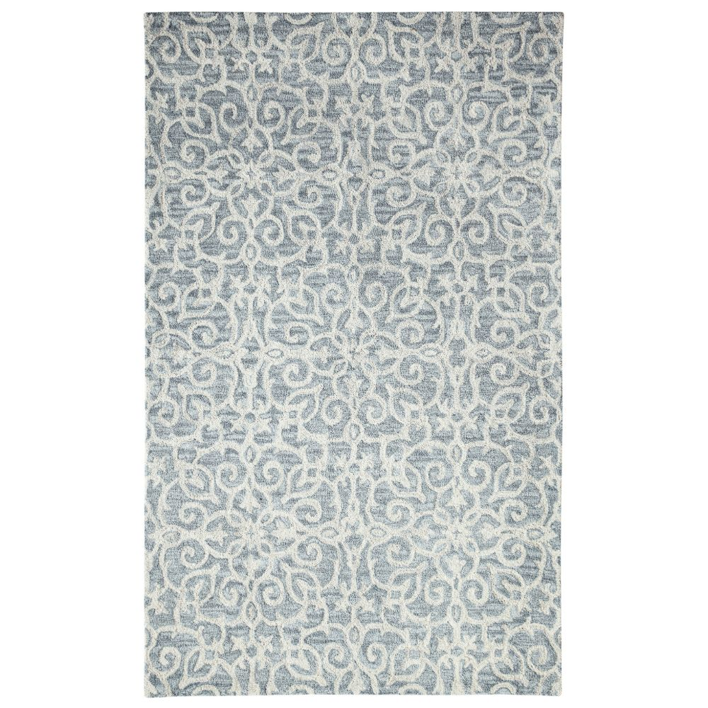 Dynamic Rugs  7861-590 Galleria 2 Ft. X 4 Ft. Rectangle Rug in Blue