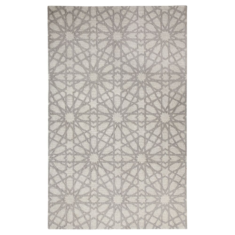 Dynamic Rugs 7862 900 Galleria 2 Ft. X 4 Ft. Rectangle Rug in Silver