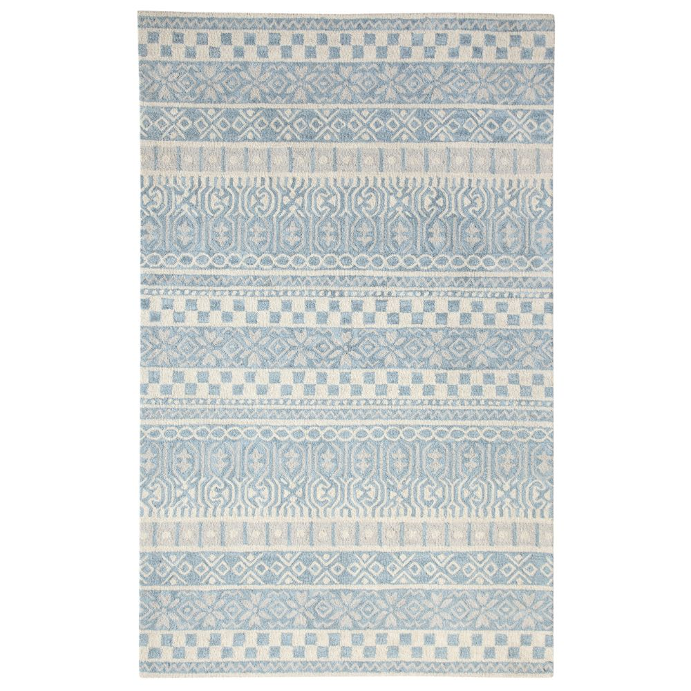 Dynamic Rugs 7863 500 Galleria 2 Ft. X 4 Ft. Rectangle Rug in Blue