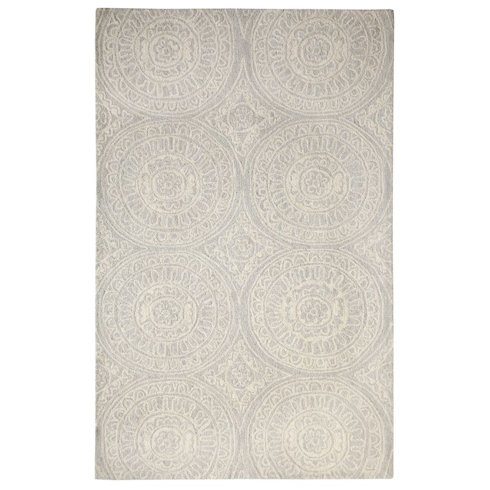 Dynamic Rugs  7866-140 Galleria 2 Ft. X 4 Ft. Rectangle Rug in Silver
