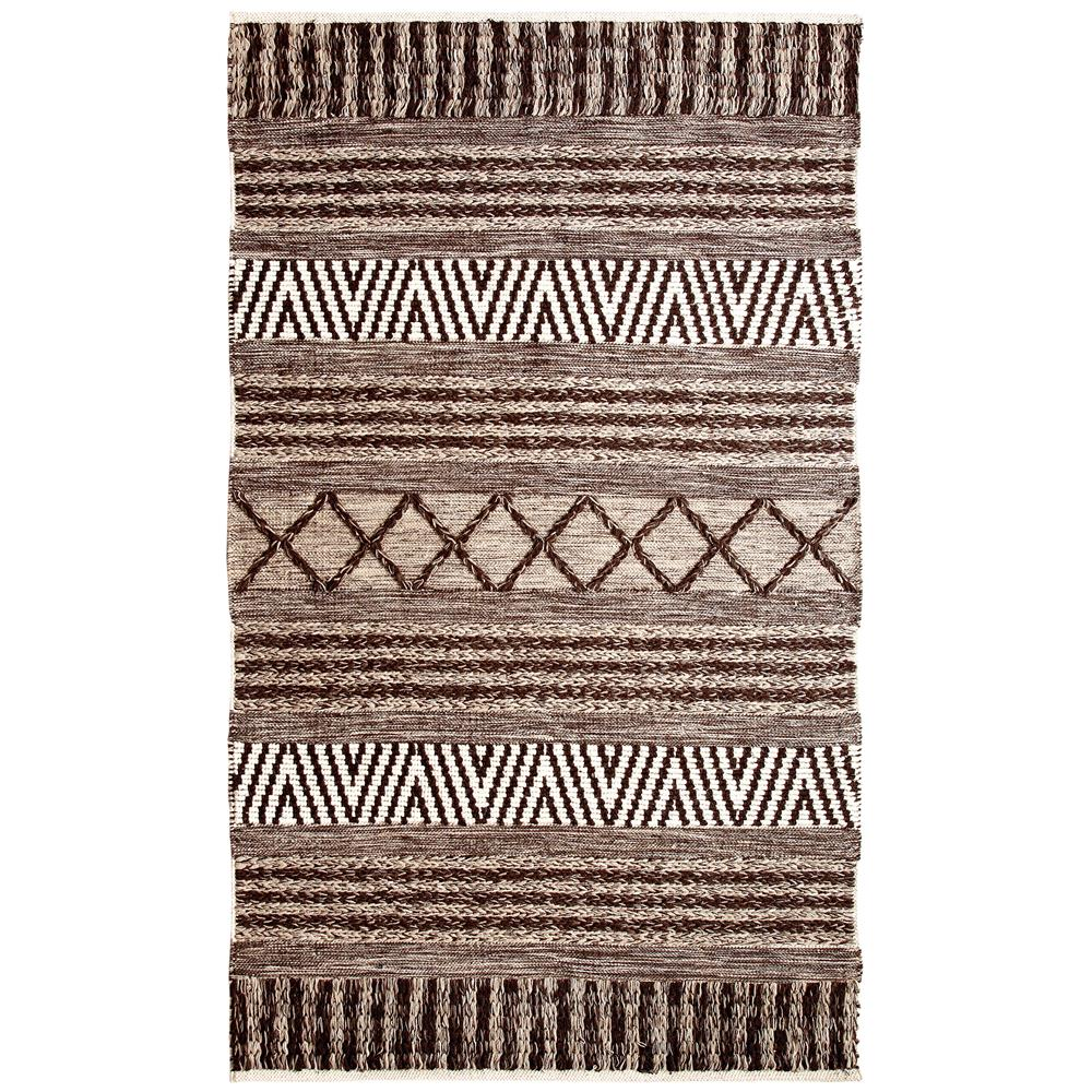 Dynamic Rugs  91003-109 Heirloom 2 Ft. X 4 Ft. Rectangle Rug in Charcoal/Ivory