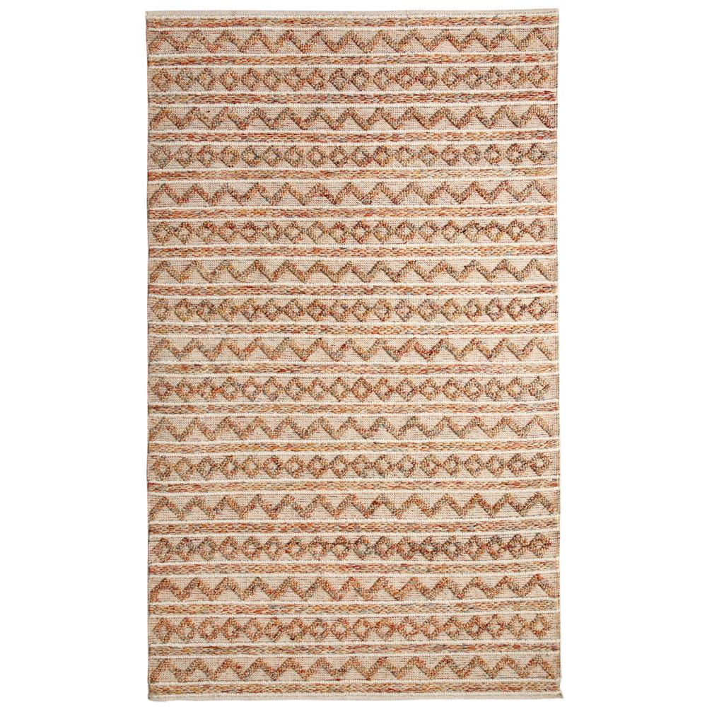 Dynamic Rugs  91004-199 Heirloom 2 Ft. X 4 Ft. Rectangle Rug in Multi/Ivory
