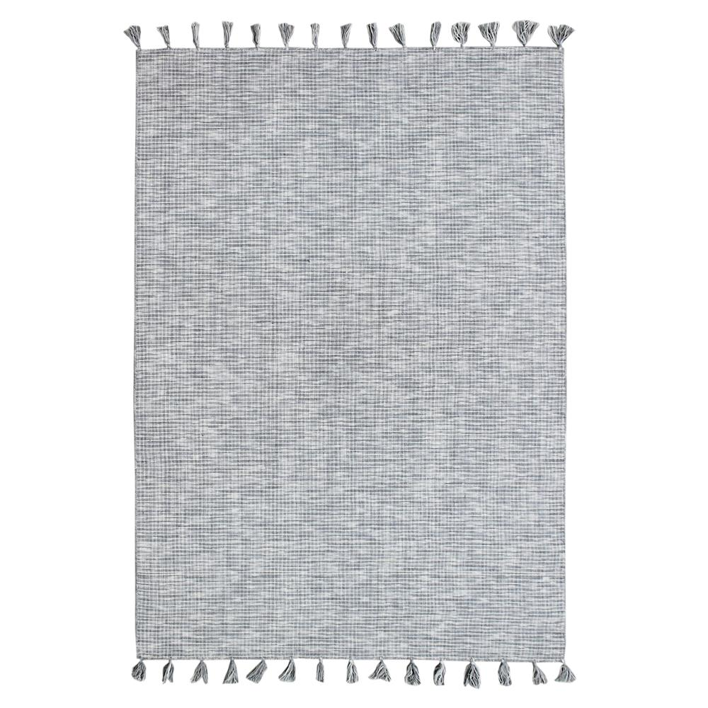 Dynamic Rugs 2930 900 Herrington 2 Ft. X 4 Ft. Rectangle Rug in Silver