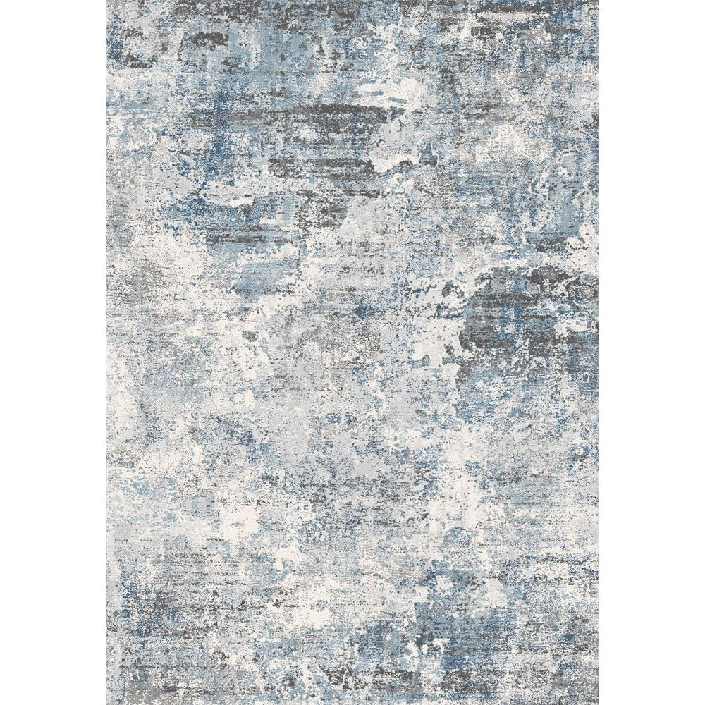 Dynamic Rugs 9320 Icon 9 Ft. 2 In. X 12 Ft. 10 In. Rectangle Rug in Grey / Blue