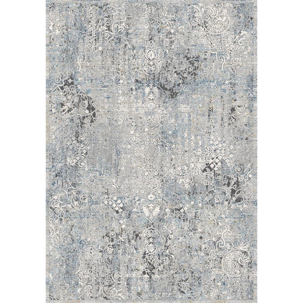 Dynamic Rugs 9324 Icon 9 Ft. 2 In. X 12 Ft. 10 In. Rectangle Rug in Grey / Blue