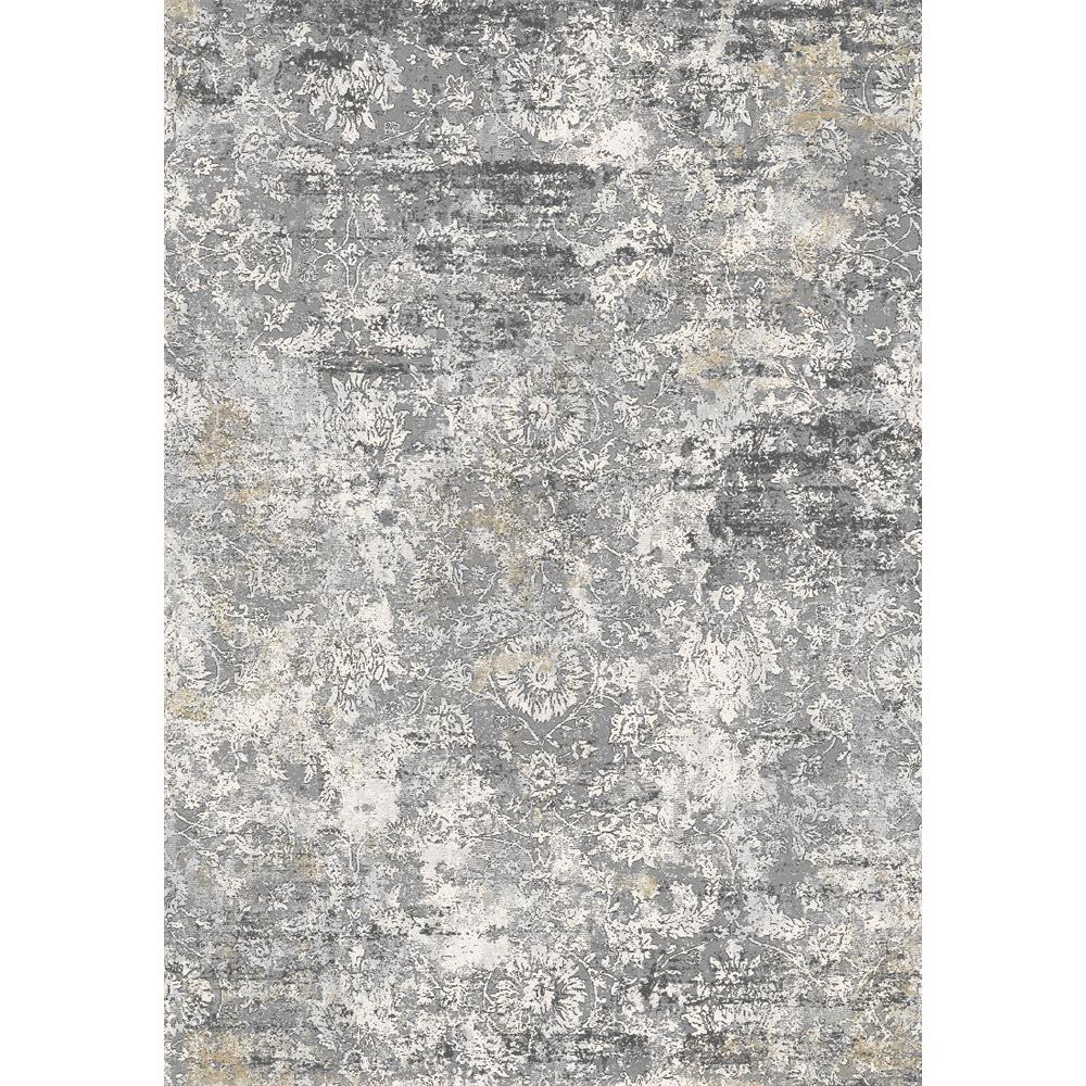Dynamic Rugs 9328 Icon 9 Ft. 2 In. X 12 Ft. 10 In. Rectangle Rug in Grey / Gold / Blue