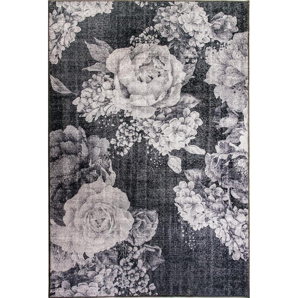 Dynamic Rugs  8871-900 Illusion 2 Ft. 1 In. X 3 Ft. 6 In. Rectangle Rug in Grey