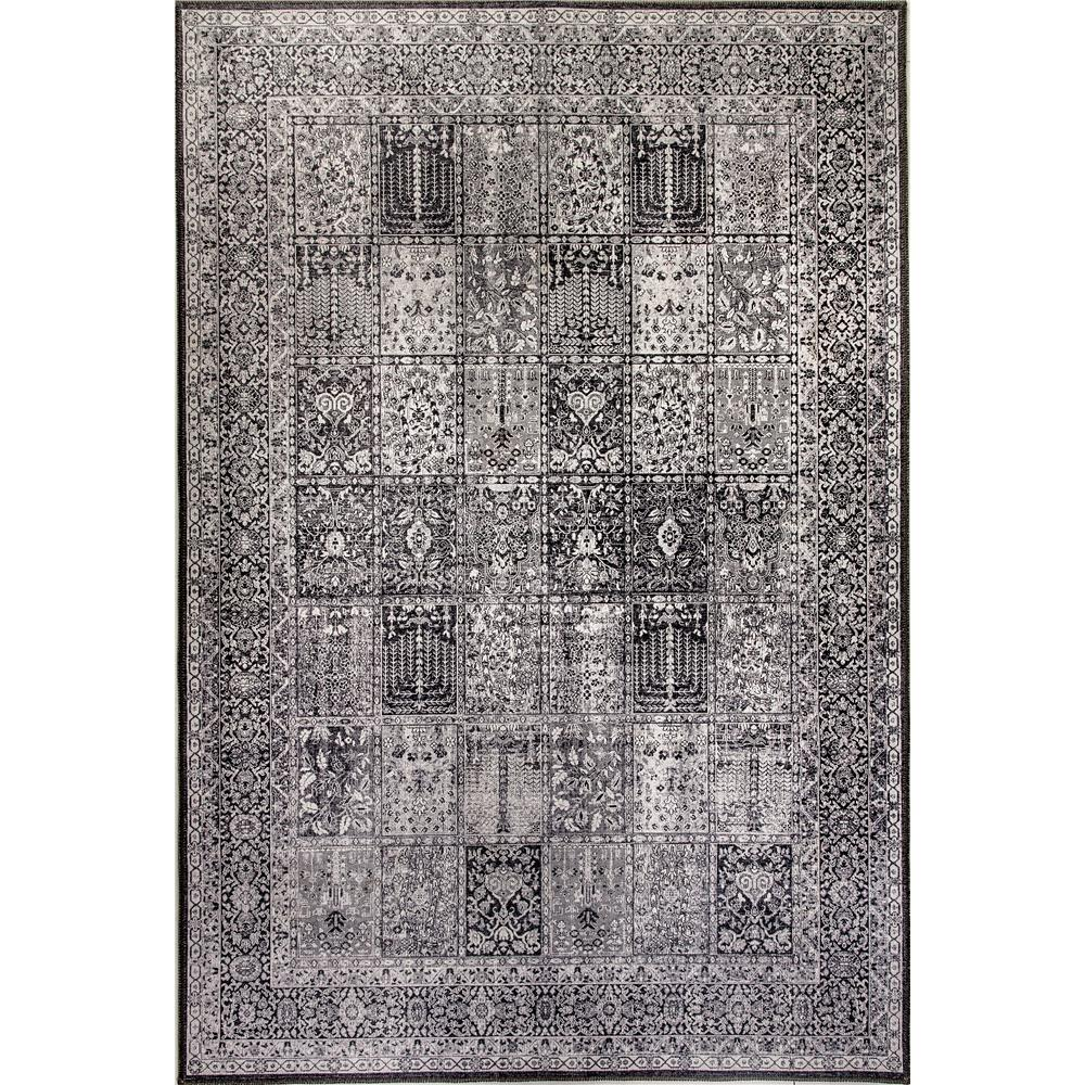 Dynamic Rugs  8873-900 Illusion 2 Ft. 1 In. X 3 Ft. 6 In. Rectangle Rug in Grey