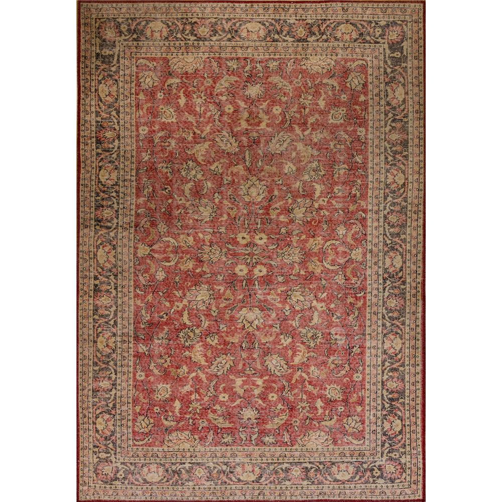 Dynamic Rugs  8877-300 Illusion 2 Ft. 1 In. X 3 Ft. 6 In. Rectangle Rug in Red