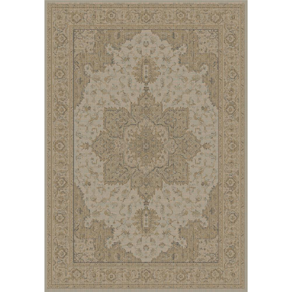 Dynamic Rugs 622-600 Imperial 2 Ft. X 3 Ft. 11 In. Rectangle Rug in Taupe