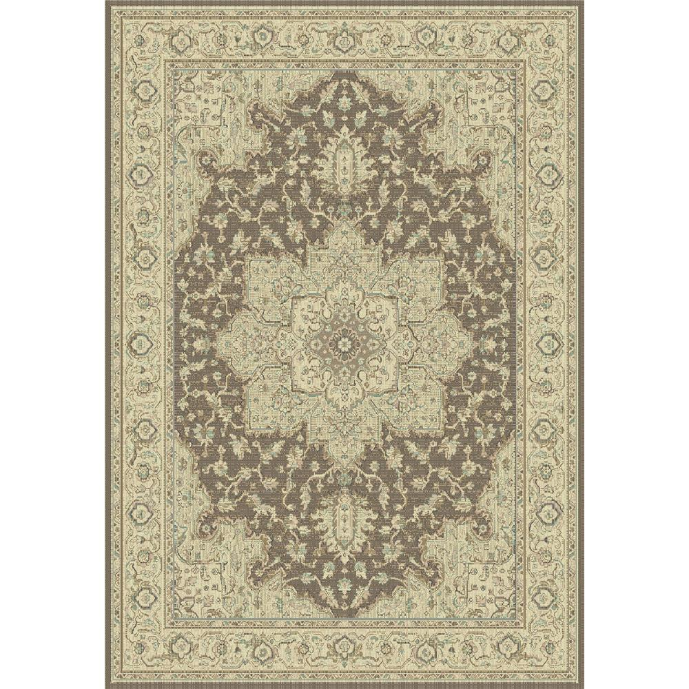 Dynamic Rugs 622-601 Imperial 2 Ft. X 3 Ft. 11 In. Rectangle Rug in Brown/Cream