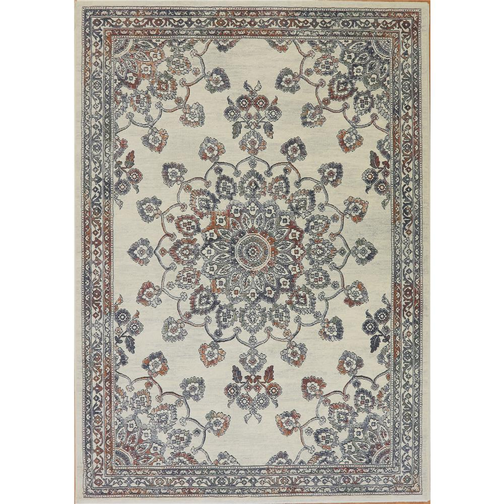 Dynamic Rugs 63420 7626 Imperial 2 Ft. X 3 Ft. 11 In. Rectangle Rug in Ivory/Multi