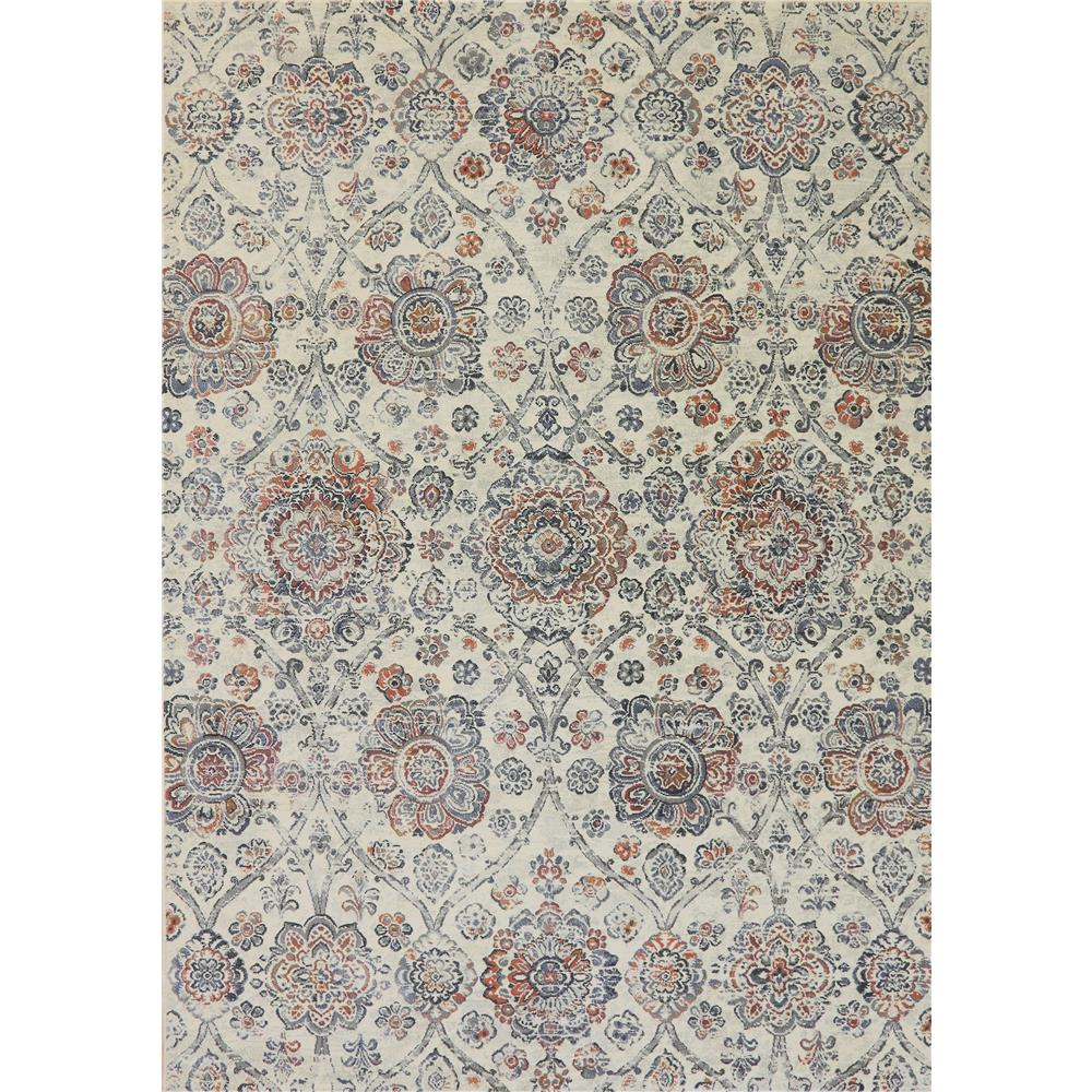Dynamic Rugs 63432 6656 Imperial 2 Ft. X 3 Ft. 11 In. Rectangle Rug in Ivory/Multi