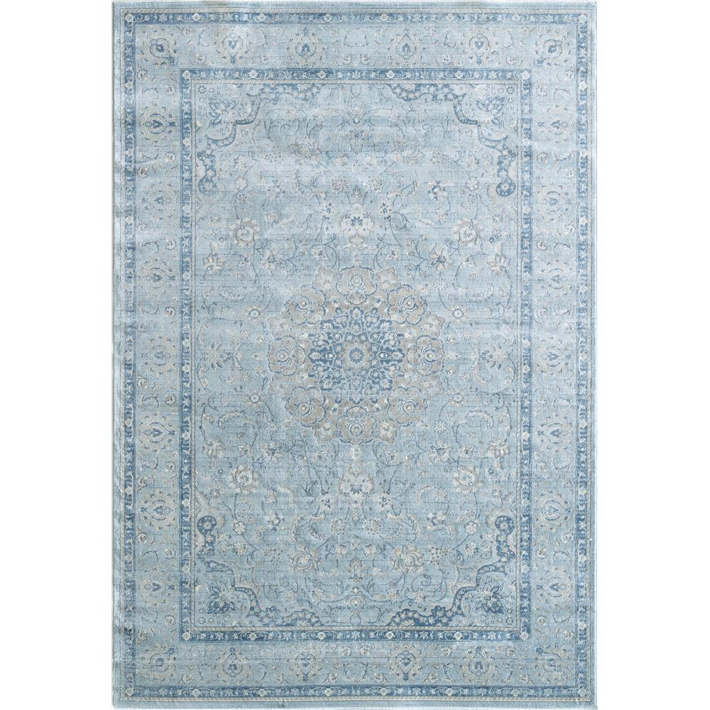 Dynamic Rugs 7255 509 Isfahan 9 Ft. 2 In. X 12 Ft. 10 In. Rectangle Rug in Light Blue