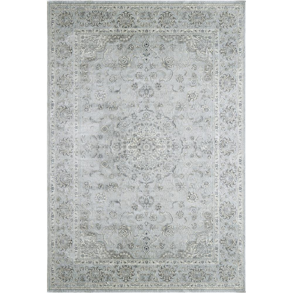 Dynamic Rugs 7255 916 Isfahan 9 Ft. 2 In. X 12 Ft. 10 In. Rectangle Rug in Light Grey