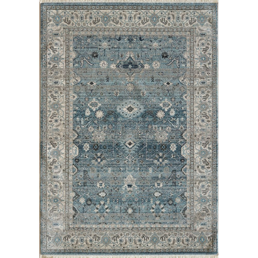 Dynamic Rugs 6881 500 Juno 3 Ft. 11 In. X 5 Ft. 7 In. Rectangle Rug in Light Blue