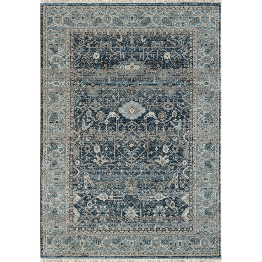 Dynamic Rugs 6881 550 Juno 3 Ft. 11 In. X 5 Ft. 7 In. Rectangle Rug in Blue