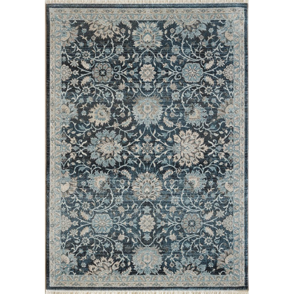 Dynamic Rugs 6883 550 Juno 3 Ft. 11 In. X 5 Ft. 7 In. Rectangle Rug in Blue