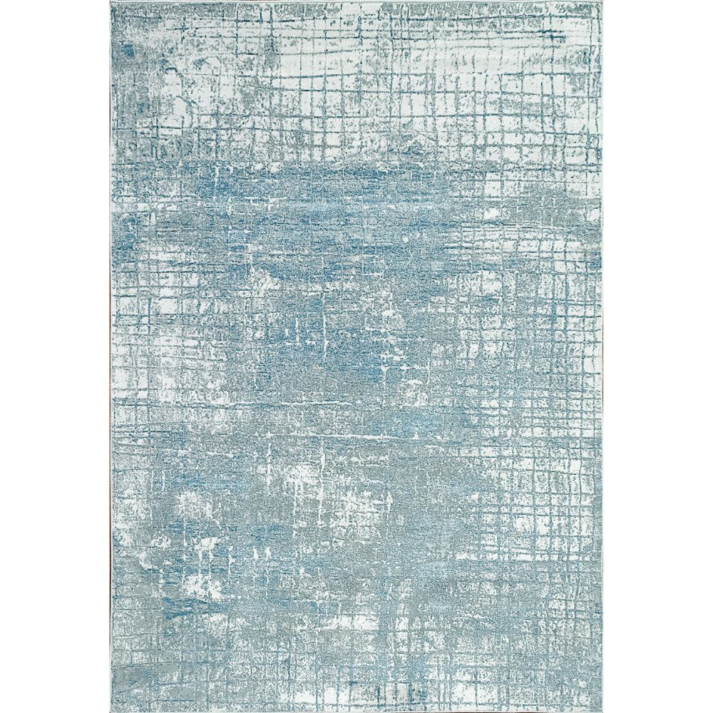 Dynamic Rugs 9863 Leda 9 Ft. 2 In. X 12 Ft. 10 In. Rectangle Rug in Ivory / Blue