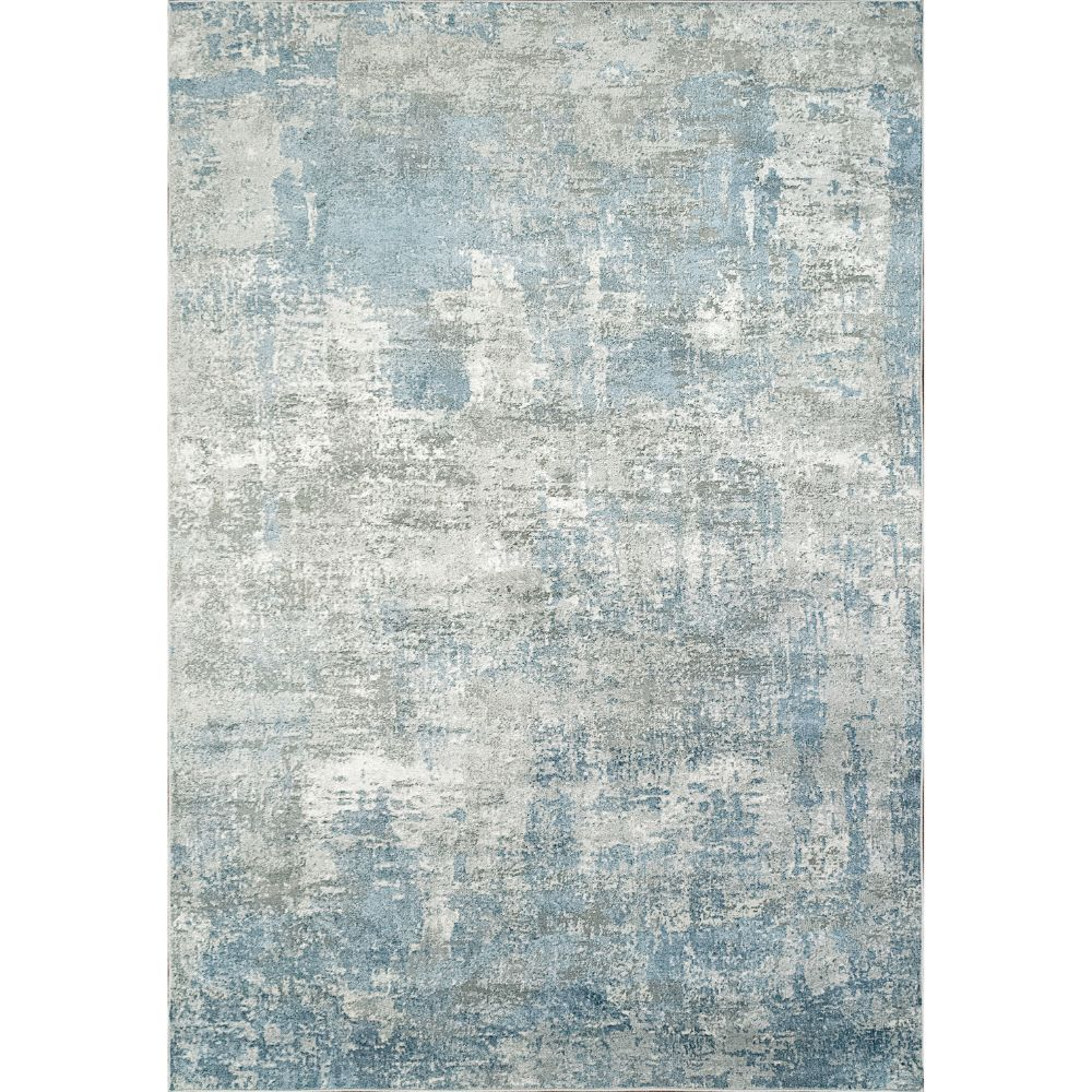 Dynamic Rugs 9865 Leda 9 Ft. 2 In. X 12 Ft. 10 In. Rectangle Rug in Grey / Blue