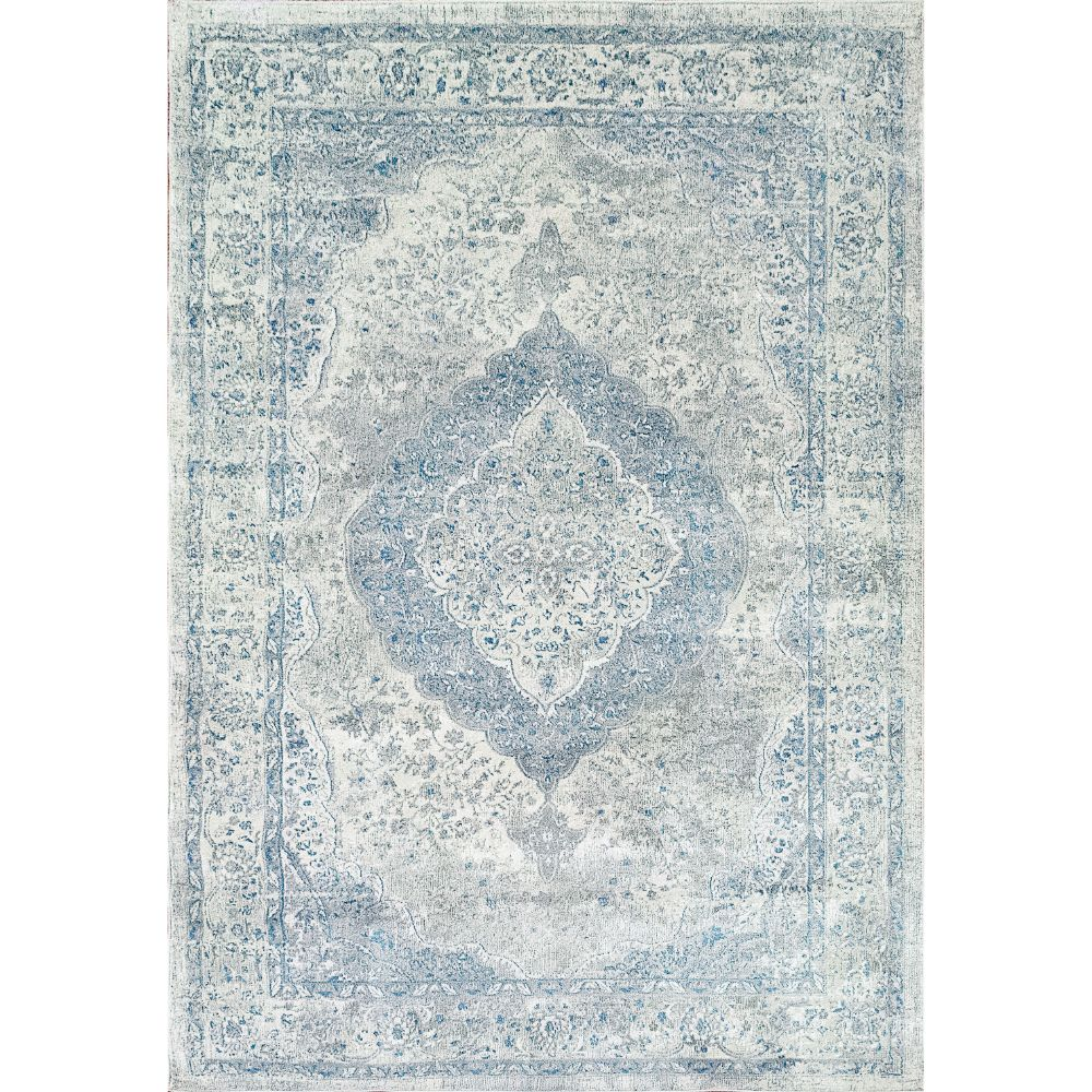 Dynamic Rugs 9866 Leda 9 Ft. 2 In. X 12 Ft. 10 In. Rectangle Rug in Ivory / Blue