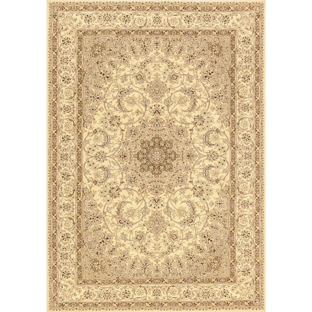 Dynamic Rugs 58000-100 Legacy 2 Ft. X 3 Ft. 6 In. Rectangle Rug in Ivory