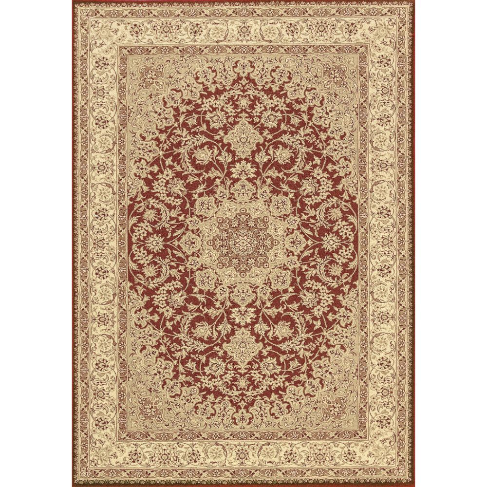Dynamic Rugs 58000-300 Legacy 2 Ft. X 3 Ft. 6 In. Rectangle Rug in Red
