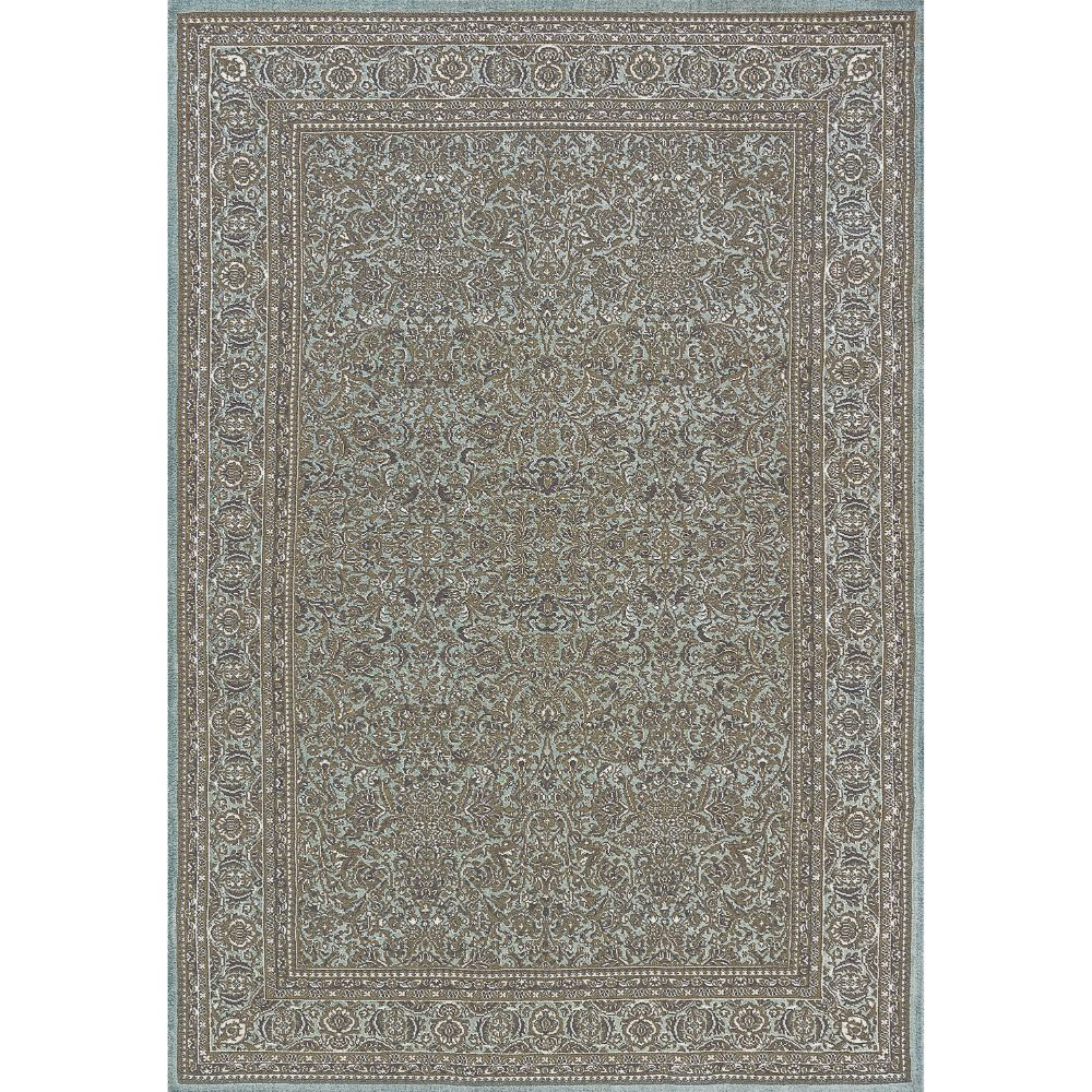 Dynamic Rugs  58004-500 Legacy 9 Ft. 2 In. X 12 Ft. 10 In. Rectangle Rug in Light Blue